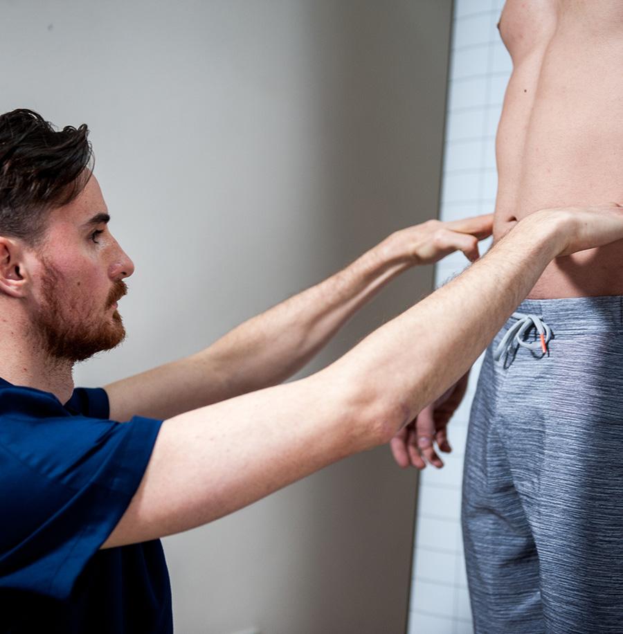 Valutazione posturale bacino