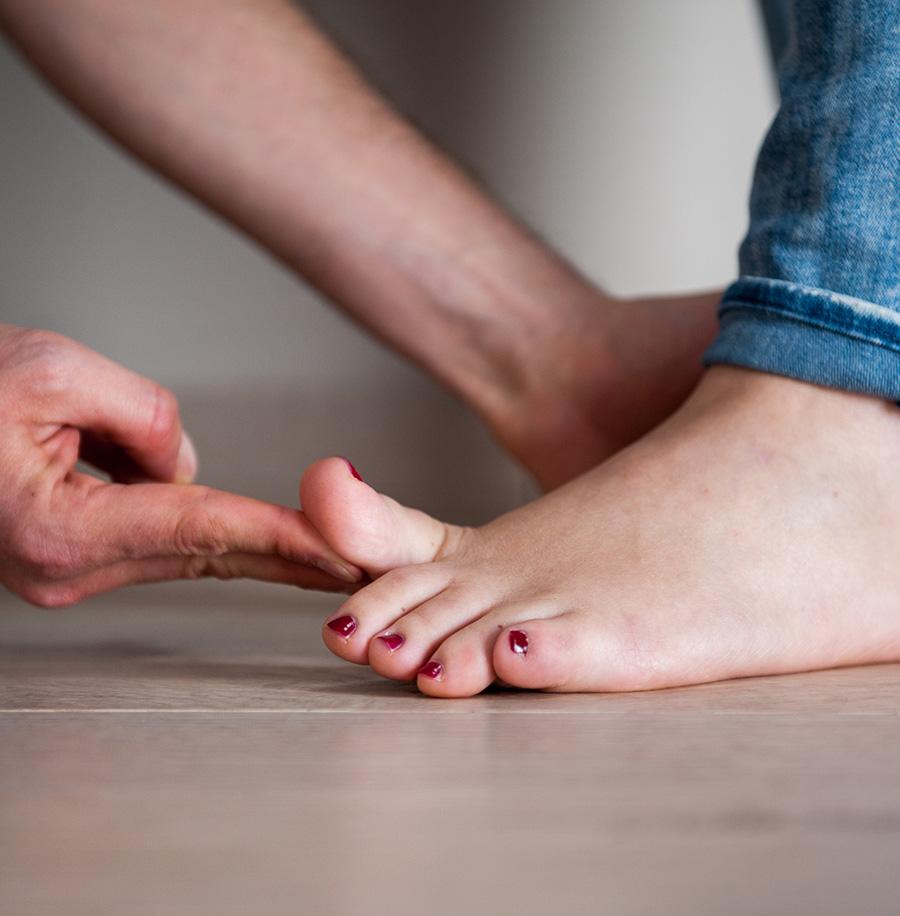 Valutazione posturale piede